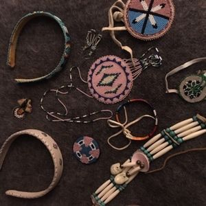 10 pc of authentic Native American  jewelry